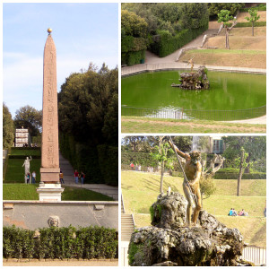 Boboli Gardens, Springtime in Florence