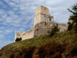 Rocca Maggiore Fortress in Assisi
