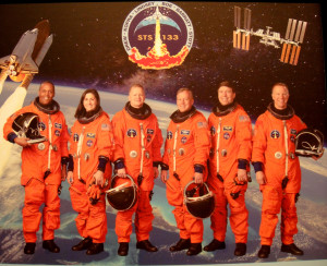 STS-133 Discover Space Shuttle Crew