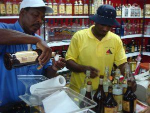 Grand Cayman Rum Sampling