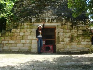 Mayan ruin El Cedral, Mexico