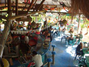 Coconuts Restaurant in Cozumel, Mexico