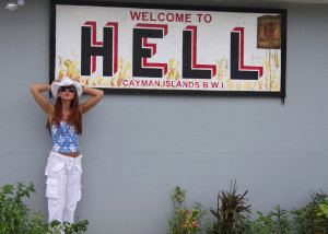 Welcome to Hell in Cayman Islands