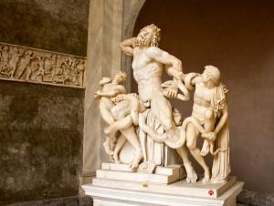 Laocoon, Vatican Museums