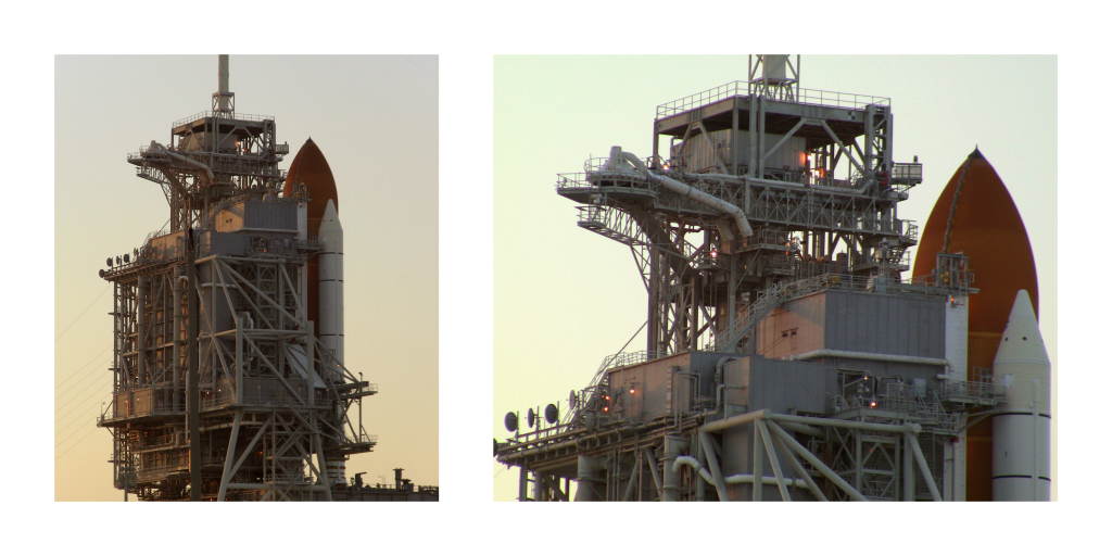 Discovery Shuttle on Launchpad 30 A