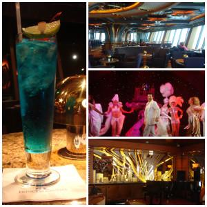 Night Life on Crown Princess Cruise Ship