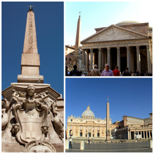 Obelisks in Rome