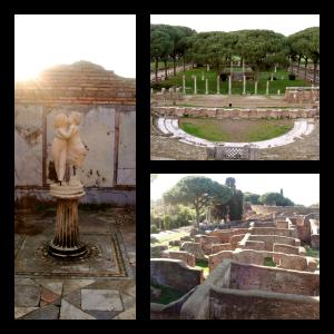 Ostia Antica Ancient Roman Ruins