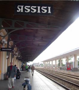 Assisi Train Station St Maria degli Angeli