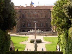 Pitti Palace, Boboli Gardens in Florence
