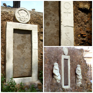 Porta Magica (Magic Door) in Rome