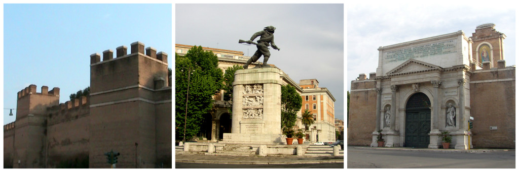Porta Pia in Rome