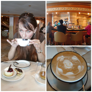 Crown Princess International Cafe