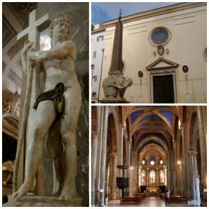 Santa Maria Sopra Minerva Church in Rome