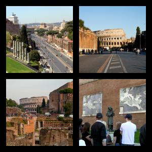 Via dei Fori Imperiali, Rome