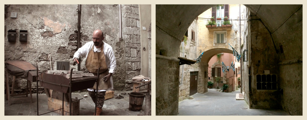 Scenes from Medieval Life in Orte