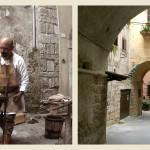 Scenes of Medieval Life in Orte, Italy