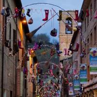 La Befana festival in Urbania, Italy