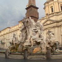 Angels & Demons Tour of Rome: WATER (Piazza Navona)