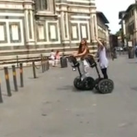 Florence on A Segway (part 1)