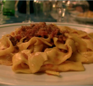 Tagliatelle with Ragu (Food and Music)