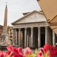 The Pantheon and its Neighborhood